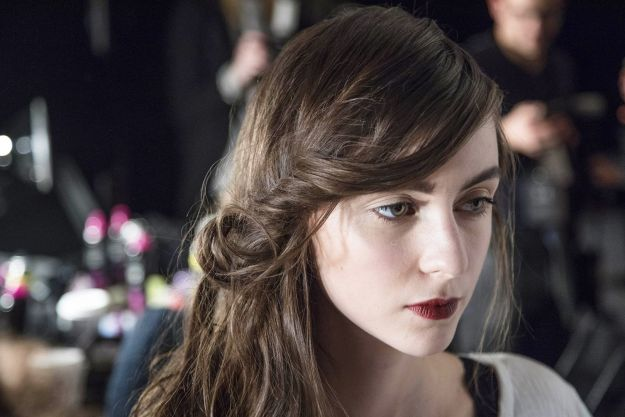 The City: New York The Show: Jenny Packham The Look: Gorgeous romantic hair