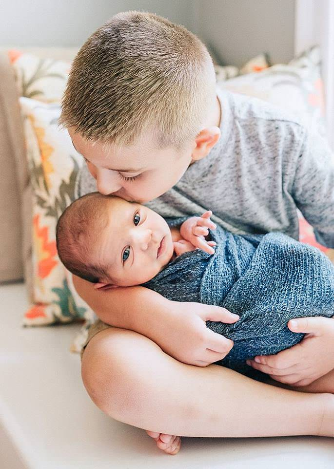 newborn baby and big brother lifestyle photos Q Hegarty Photography photographer Tewksbury, MA