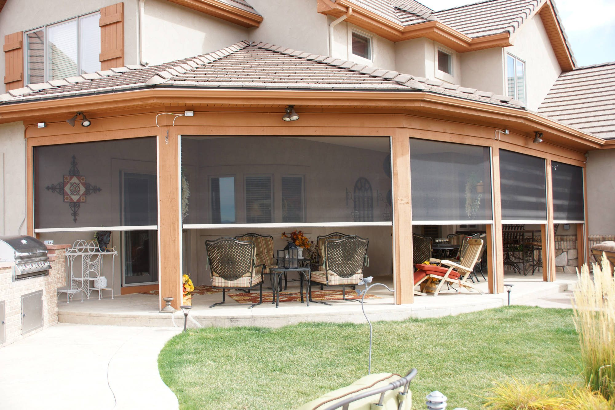 Oasis 2900 Solar Insect Screen  Innovative Openings