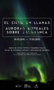 Cartel Auroras Boreales