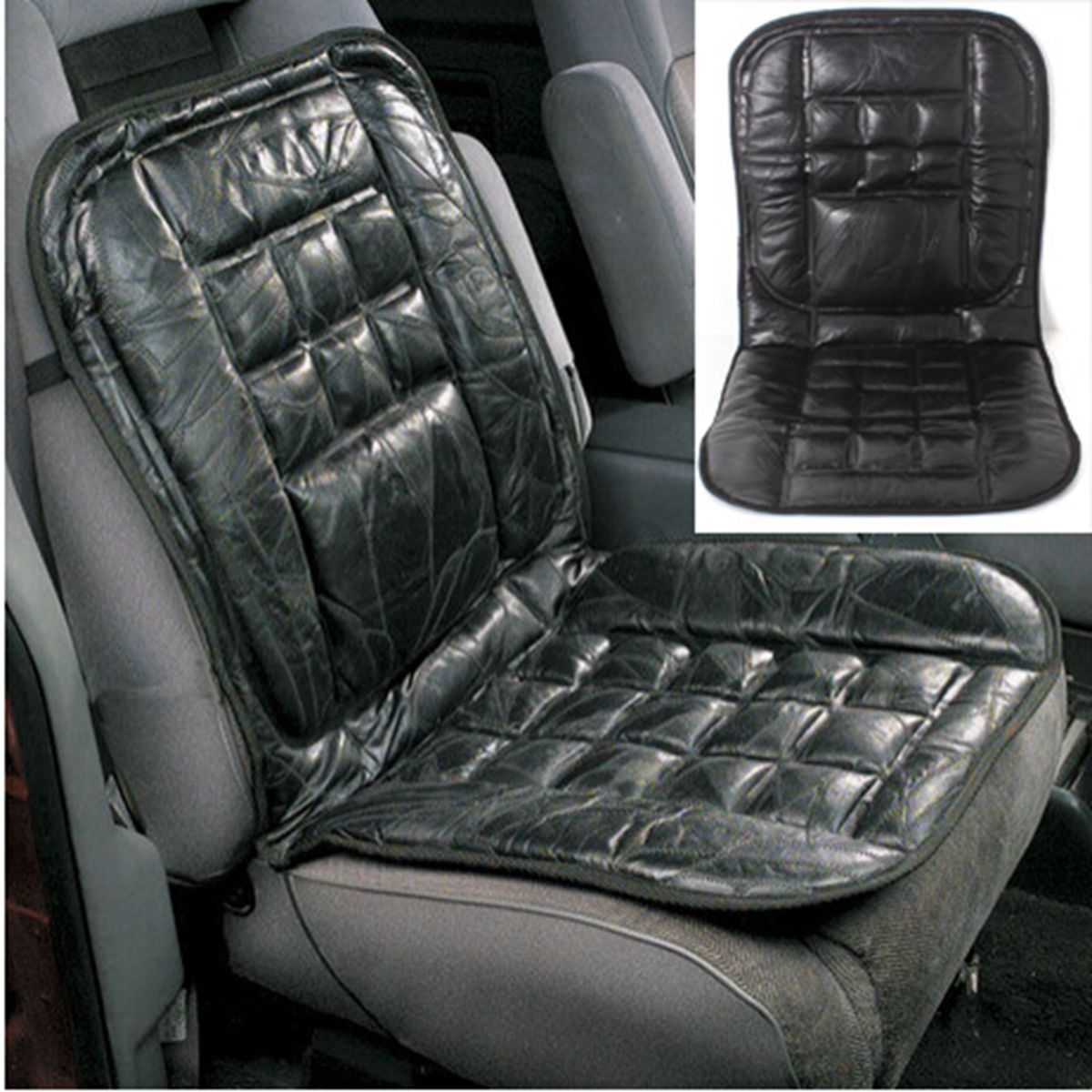 Massage Chair Cover Leather Back Support Seat Cover Cushion Chair Massage Car