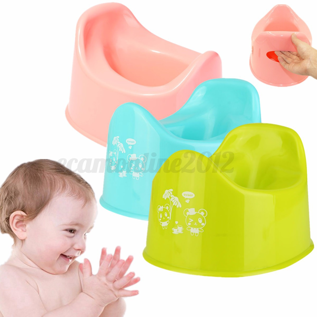 Potty Chairs For Toddlers Baby Child Kids Toddler Toilet Training Steady Potty Seat