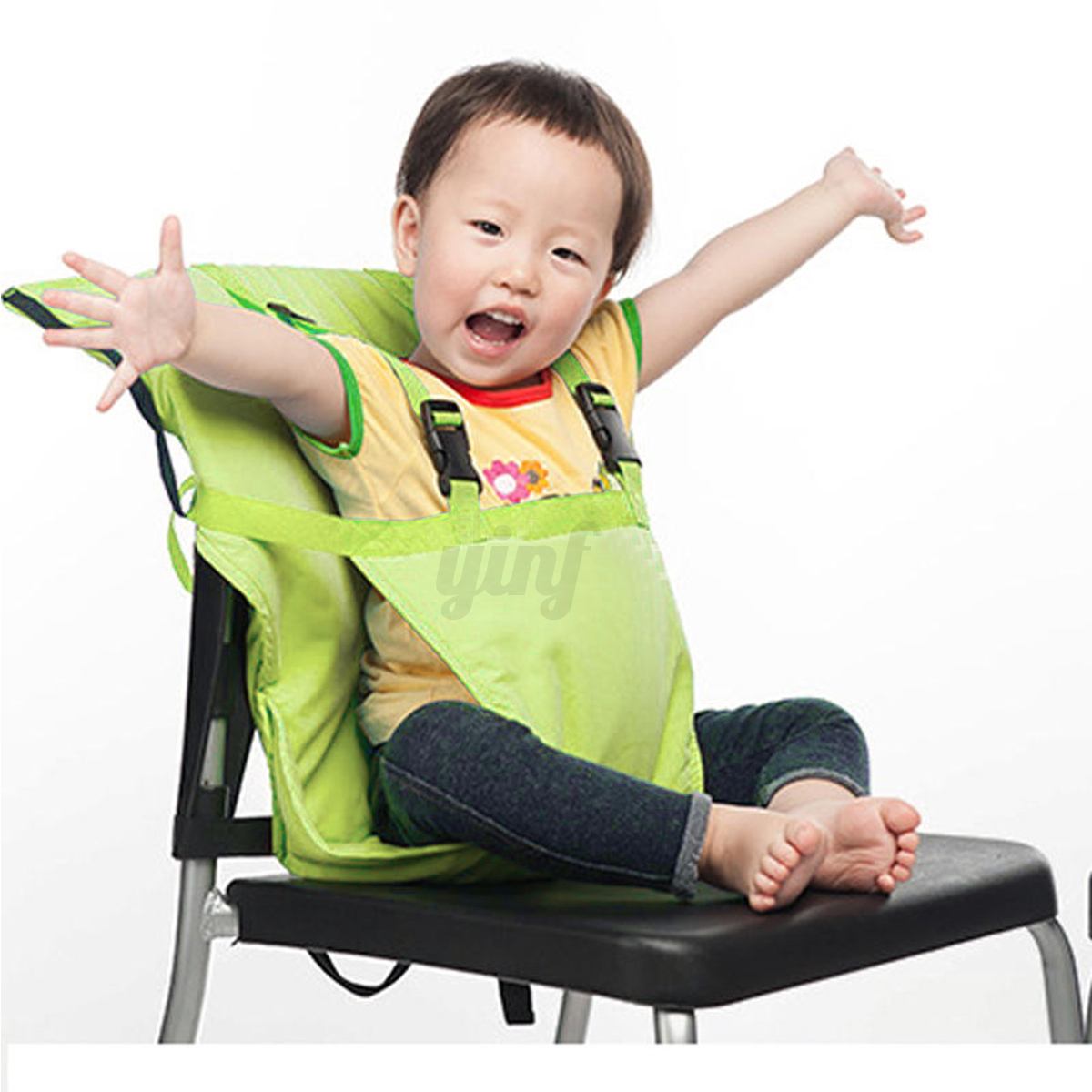 Baby Chair For Eating Portable Baby Infant Kids Feeding High Chair Harness Seat