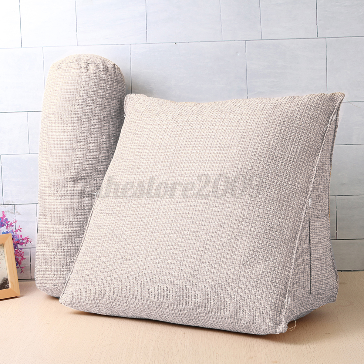 Bed Chair Pillow Big Adjustable Sofa Bed Chair Office Rest Neck Support
