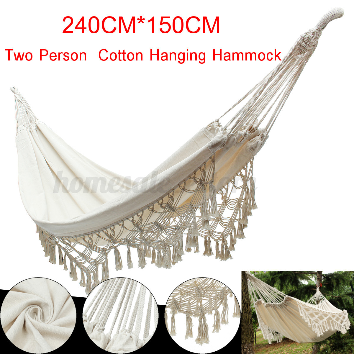 Marrakech Swing Chair Morocco Hanging Cotton Rope Macrame Hammock Chairs Swing