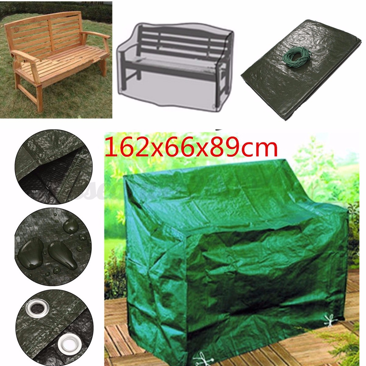 Waterproof Chair Covers Waterproof Furniture Cover For Garden Outdoor Patio Bench