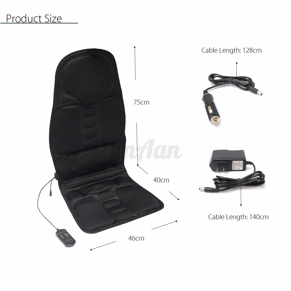 Massage Chair For Car Heated Back Massage Chair Car Seat Cushion Massager Neck