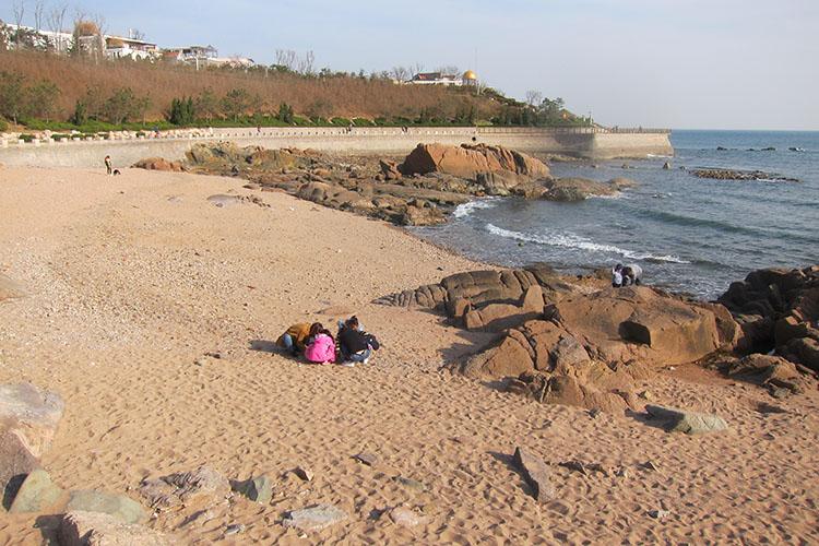 Qingdao China beach Yinhai