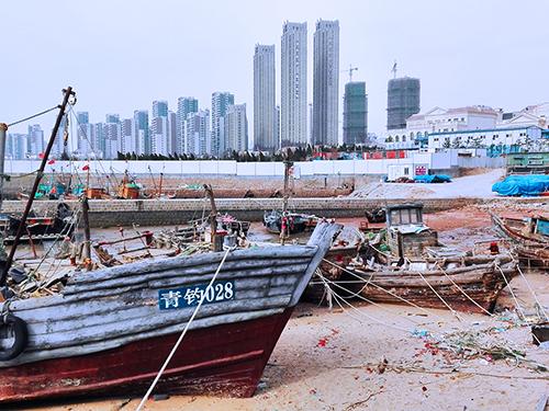 Qingdao skyline