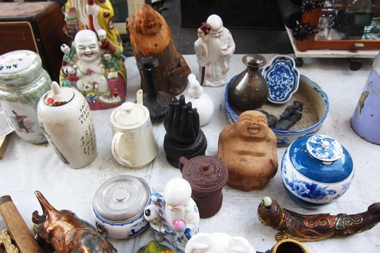 Art Antique Culture Street Qingdao Expat China