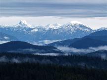 Doogie Dowler & mainland mountains