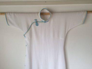 掃地旗袍(お掃除旗袍)。2015年8月に完成。atelier leilei提供。