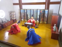 salah satu Diorama dalam museum the story of sejong