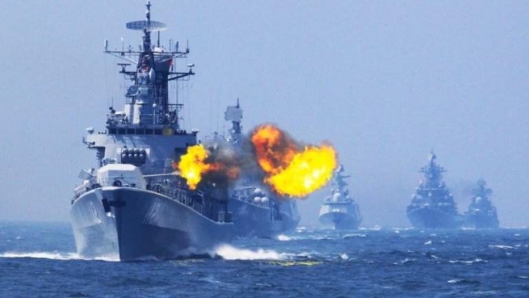 美舰穿航台海区域,东部战区严重警告:正告美方停止滋事搅局