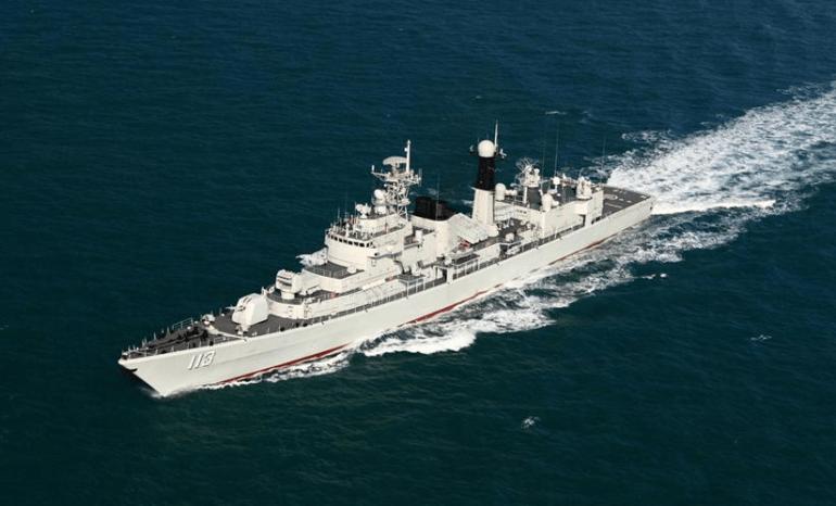 美軍航母駛向南海,剛與日本准航母演練海戰!美日公然恐嚇中國
