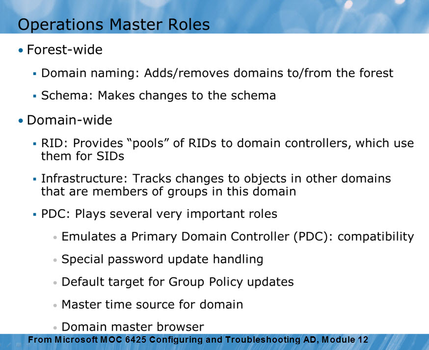 active directory fsmo roles explained  u2013 ace fekay
