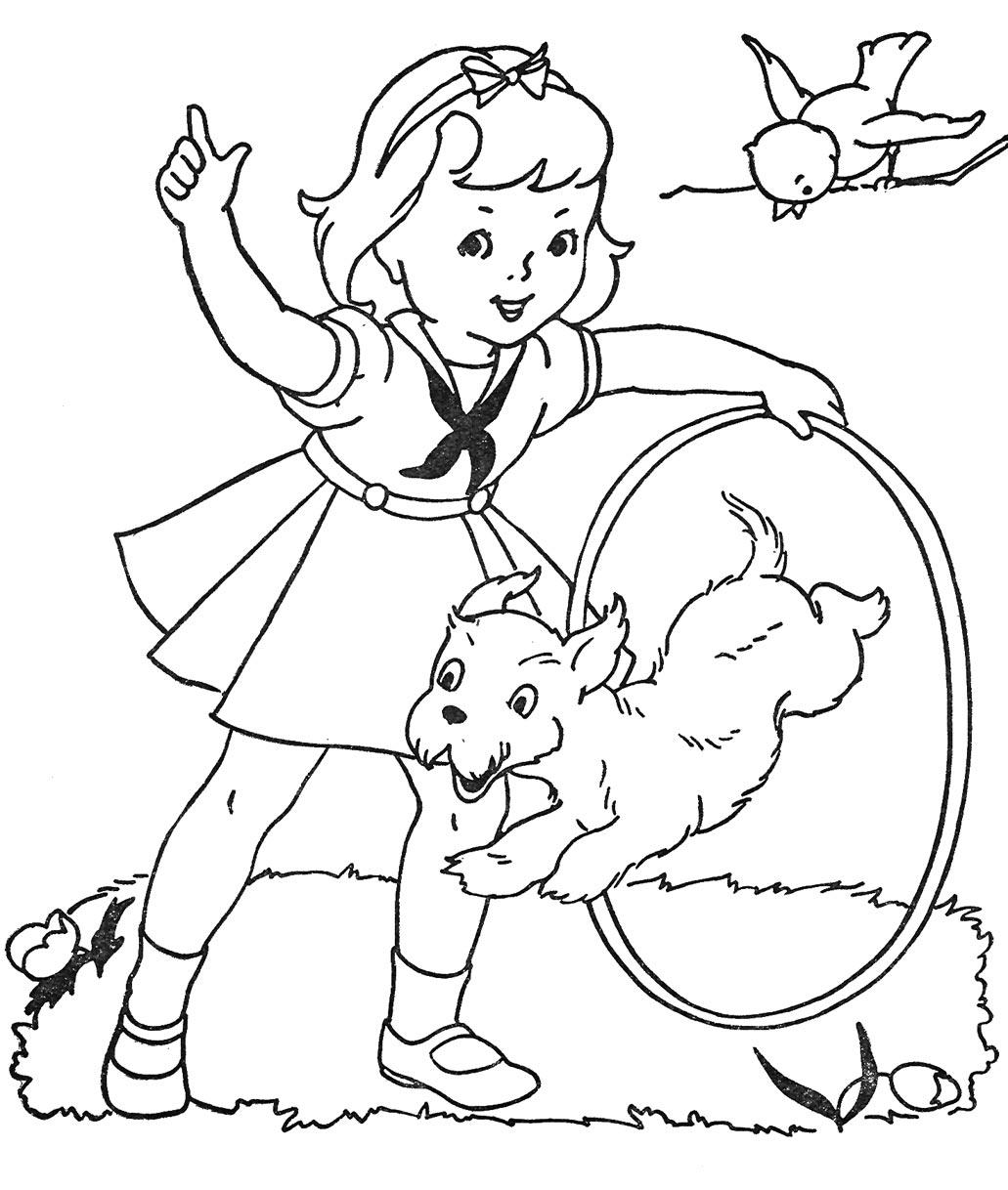 Favorite Paint Book — Little Girls