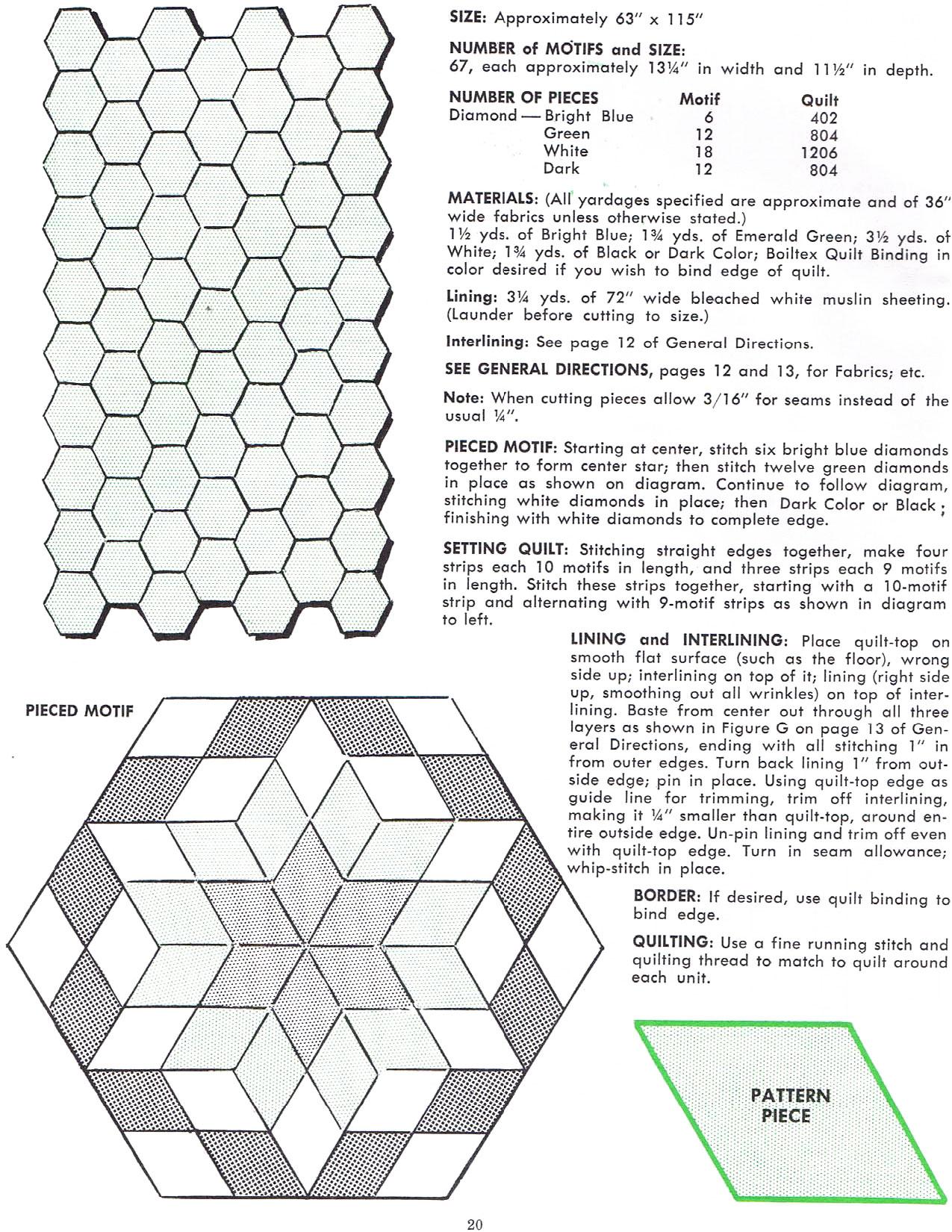 Star Quilts — Vintage Quilt Booklet