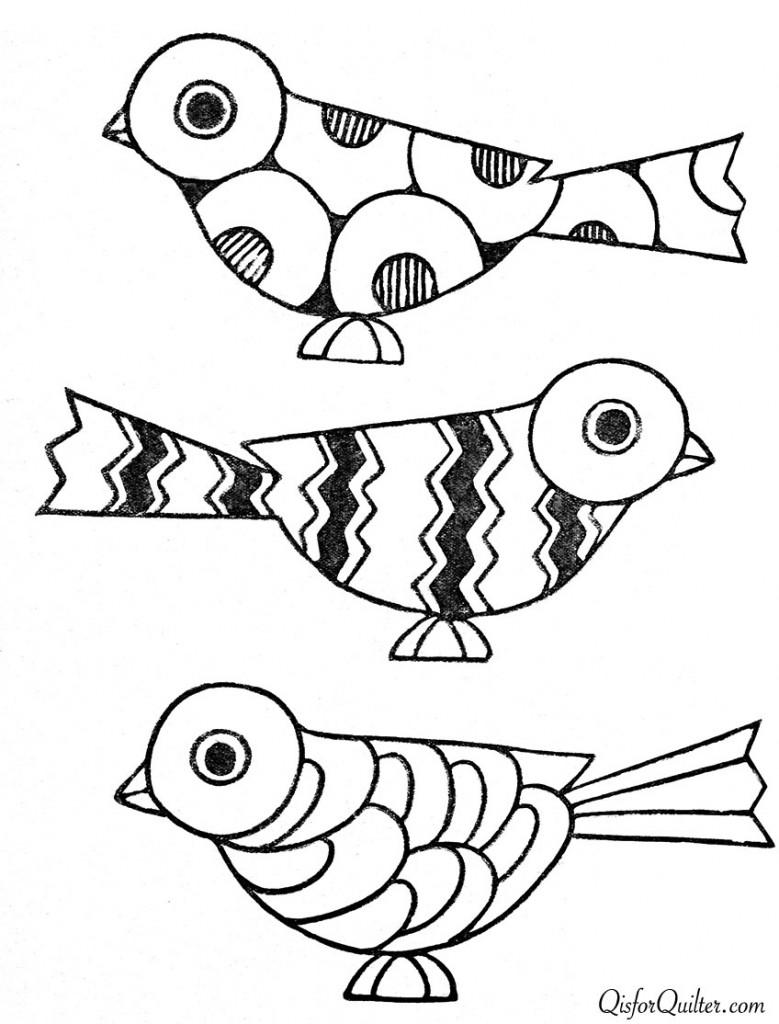 Birds Art, 1920S Patterns Art Deco, Art Deco Drawings