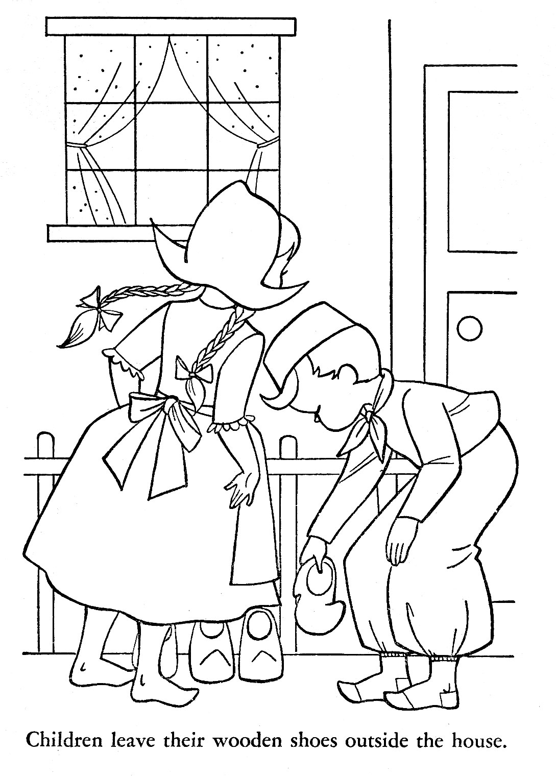 Children Of Other Lands Coloring Book Q Is For Quilter