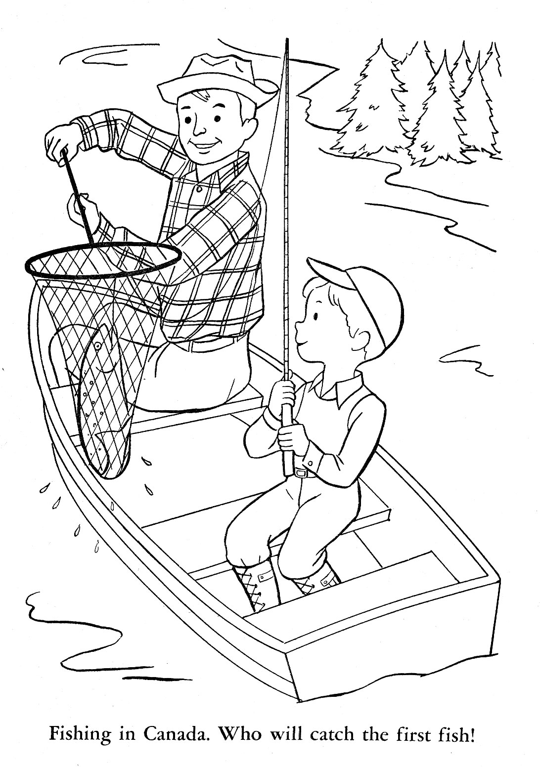 Images About Camping Coloring Pages