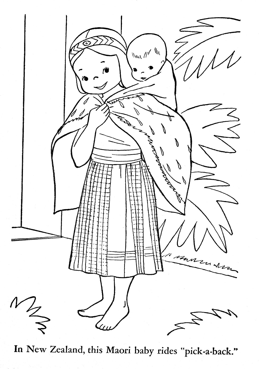 Children of Other Lands, 1954 — Australia, New Zealand
