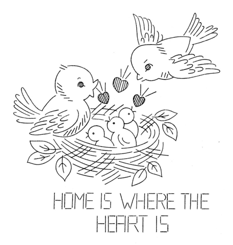 Free Pattern Friday — Laura Wheeler Bird Embroidery