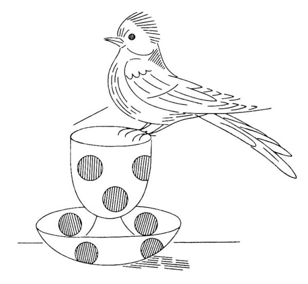 Free Pattern Friday — Laura Wheeler #918, Birds and
