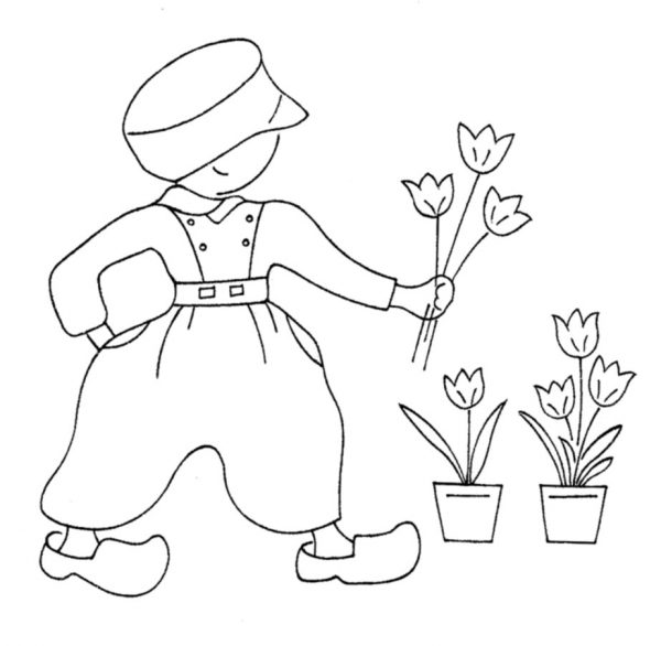 McCall's Monday — Dutch Boys and Girls Embroidery Patterns