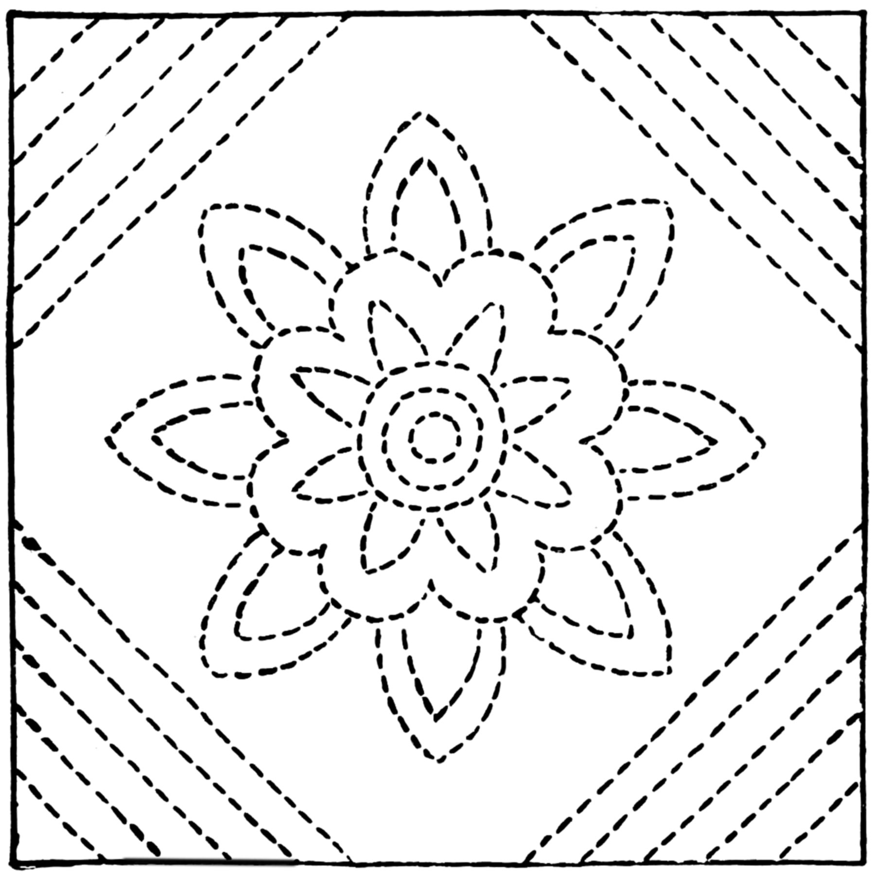 McCall's Monday — Quilting Motifs From Old Favorites