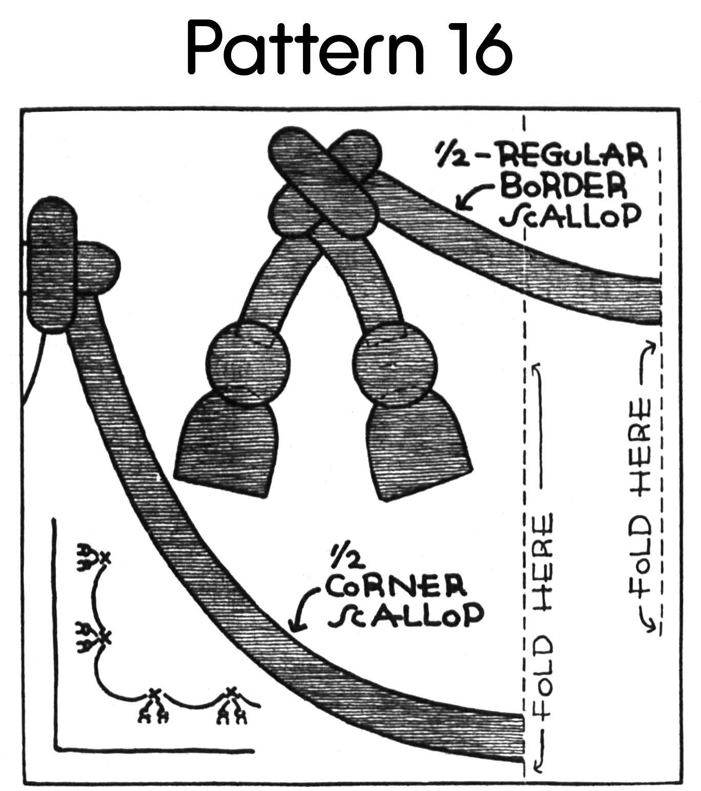 Nancy Page Summer Garlands Quilt, 1936, Pattern #17