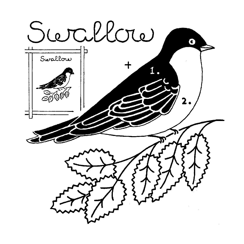 Quilt of Birds Pattern — Nancy Page Quilt Club
