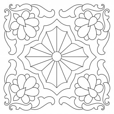 Hand Quilting Designs from Vintage Embroidery Transfers