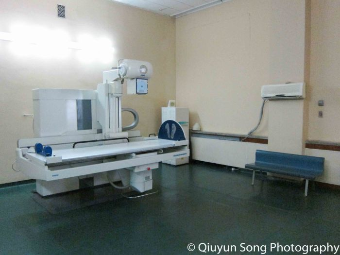 X Ray Room at Pyongyang Maternity Hospital