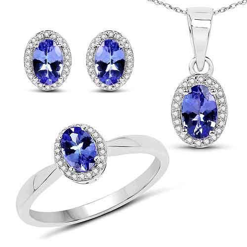 Topaz Quartz Blue Ring And Size 8