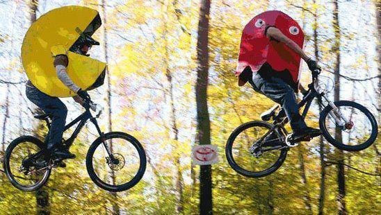 bicycle pac man