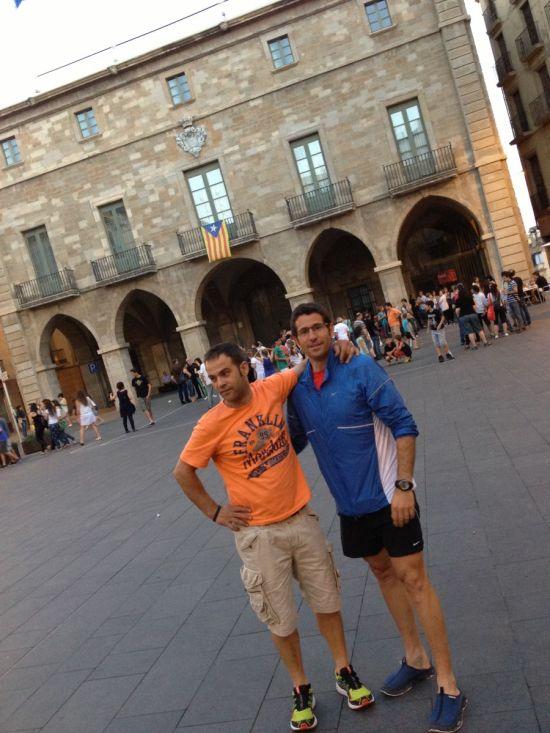 Josep i Isma a Santpedor