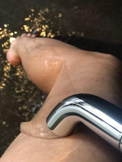 hydroterapi benskylning