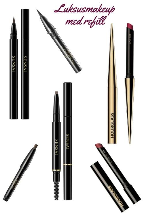 Luksus makeup med refill, der sparer både på miljø og din pengepung