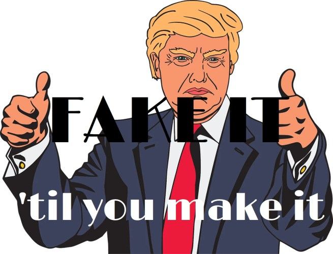 Trump har en egenskab, hvor han holder fast og tror på, hvad han vil