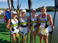 Australian junior women's crew of Tiarnee Massie, Jemma Smith, Lucinda Kelly and Mackenzie Duffy