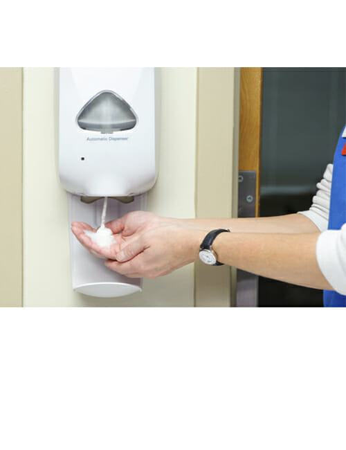 Touch Free Soap Systems