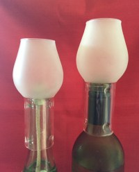 Wine Bottle Oil Lamp Kit  Twin Pack  QLD Lamp Oil Supplies