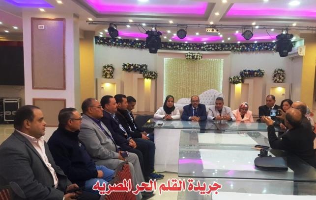 بالصور والفيديو:بحضور رئيس جامعة الفيوم- الإعلان عن موعد مهرجان القلم الحر للإبداع العربي(التاسع)تحت شعار(الصحةوالثقافة لرفعة الأمم)