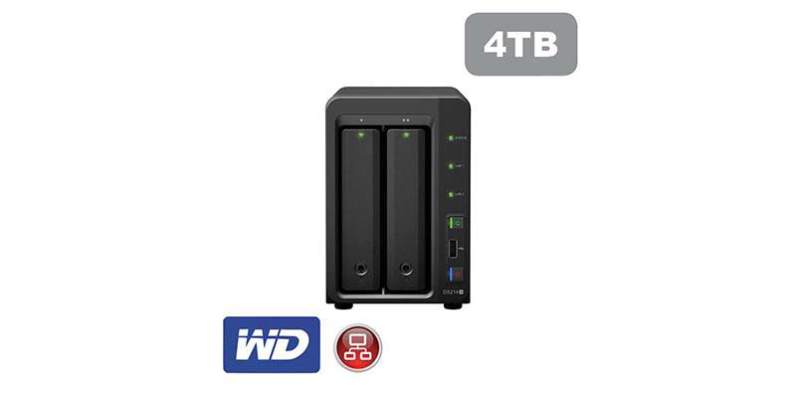 Synology DS214+ 4TB