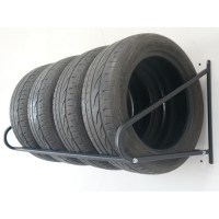 GARAGE TIRE STORAGE FOLDING WALL MOUNT TYRE RACK STORAGE ...