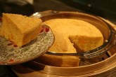 Chinese style steamed millet and pumpkin sponge cake (小米南瓜糕)