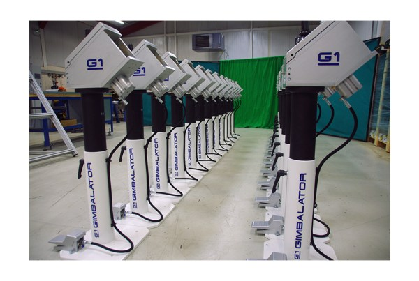 QM Systems G1 Gimbalators ready to start production