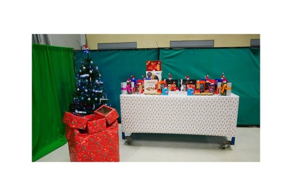 QM System merry christmas party area
