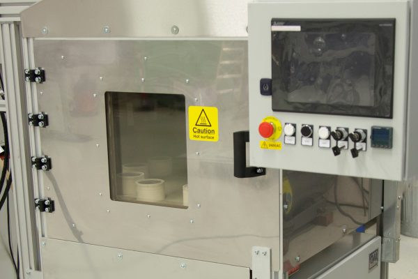 Glass Reflow Induction Heat System